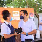 Alcalde lanzó programa de conectividad que beneficiará a 70.813 estudiantes