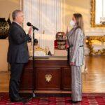 Carmen Valderrama fue posesionada como nueva MinTIC